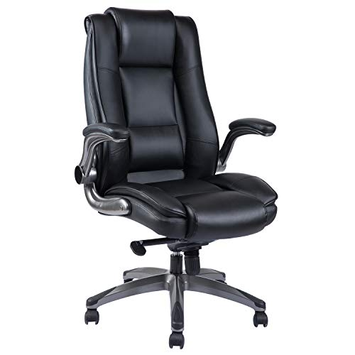 High Back Office Chair - Adjustable...