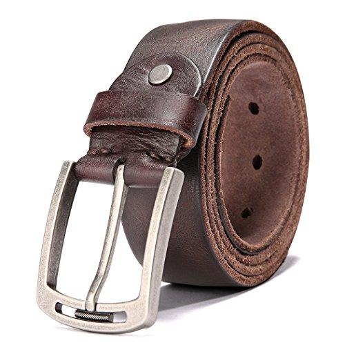 Men's 100% Italian Cow Leather Belt...