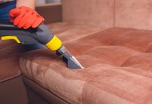 best way to clean leather couch