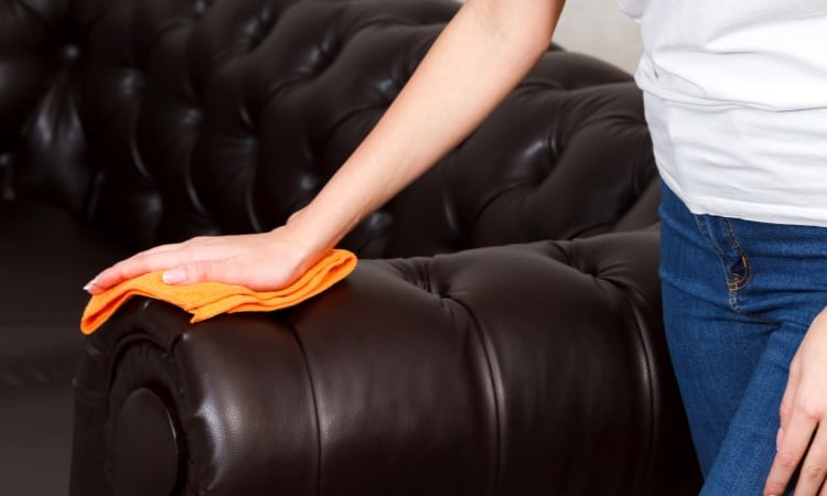 How To Clean Leather Recliner Easy