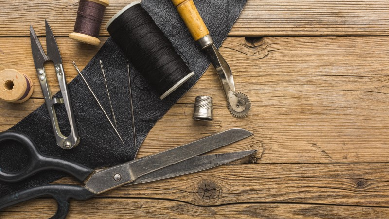 types of leather stitching