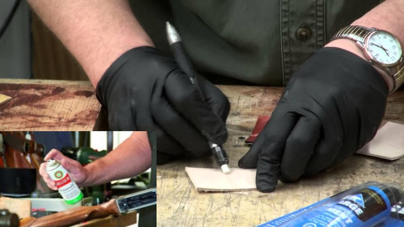 how to remove super glue from faux leather